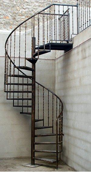 Herreria mantenimiento residencial e industrial - Escaleras de caracol economicas ...